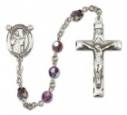 St. Augustine Rosary Heirloom Squared Crucifix