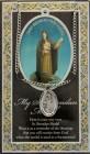 St. Brendan the Navigator Medal in Pewter with Bi-Fold Prayer Card