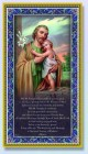 St. Joseph Italian Prayer Plaque