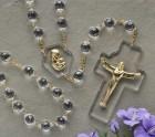 Crystal Wall Rosary 54 inch