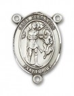 St. Sebastian Rosary Centerpiece Sterling Silver or Pewter