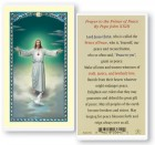 Prayer To The Prince of Peace Laminated Prayer Cards 25 Pack