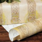 Irish Trinity Knot Rolled Gift Wrap
