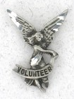 Volunteer Angel Lapel Pin (12 pieces per order)