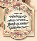 Hubo Una Dia Wall Plaque