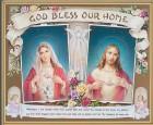 House Blessing Gold Framed Print