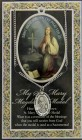 St. Mary Magdalene Medal in Pewter with Bi-Fold Prayer Card