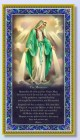 Our Lady of Grace Italian Prayer Plaque