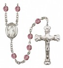 Women's St. Justin Birthstone Rosary