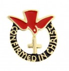 Confirmed in Christ Lapel Pin