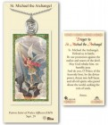 St. Michael the Archangel Medal in Pewter with Prayer Card