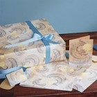 Waves of Blessings Gift Wrap Set