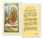 Oracion A La Virgen Guadalupe Laminated Spanish Prayer Cards 25 Pack