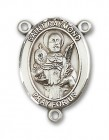 St. Raymond Nonnatus Rosary Centerpiece Sterling Silver or Pewter