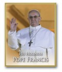 Pope Francis Gold Frame Plaque