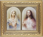 Immaculate Heart of Mary and Sacred Heart of Jesus Framed Print