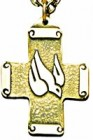 Spirit and Word Dove Pendant