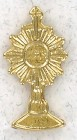 Small Monstrance Lapel Pin