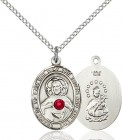 Women's Oval Sacred Heart Pendant
