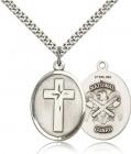 Cross National Guard Pendant