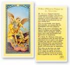 Policeman's Prayer,  St. Michael Laminated Prayer Cards 25 Pack