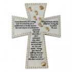 Footprints Wall Cross - 6 inch