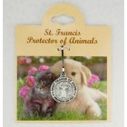 St. Francis Pewter Pet Medal - Small