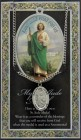 St. Jude  Medal in Pewter with Bi-Fold Prayer Card