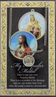 Scapular Medal in Pewter with Bi-Fold Prayer Card