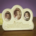 Parents and Baby Generations Photo Frame