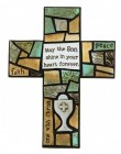 First Communion Mosaic Wall Cross