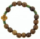 Wood Rosary Bracelet - 10mm