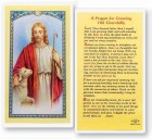 Prayer For The Growing Old Laminated Prayer Cards 25 Pack