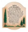 Walking with Grandpa Wall Plaque