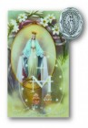 Miraculous Lapel Pin with Holy Card