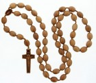 Jujube Wood 5 Decade Wall Rosary - 20mm