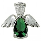 Angel Pin- May Birthstone