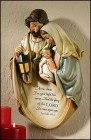 "Holy Family Wall Plaque - 14""H"
