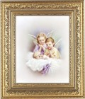 Angels Watching Over Me Framed Print