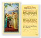 Oracion Al Santo Angel Gabriel Laminated Spanish Prayer Cards 25 Pack