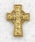 Celtic Cross Lapel Pin (12 per order)