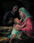 Holy Family Print - Sold in 3 per pack