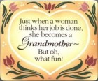 Grandmother Wall Plaque
