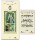 Guardian Angel Medal in Pewter with Prayer Card [BLPCP052]