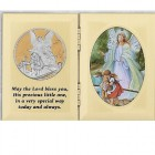 Folding Baptism Photo Frame Plaque