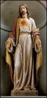 "Sacred Heart Statue - 48""H"