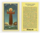 St. Francis Canticle of All Laminated Prayer Cards 25 Pack