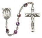 St. Francis of Assisi Rosary Heirloom Squared Crucifix