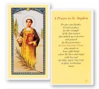 Prayer To St. Stephen Laminated Prayer Cards 25 Pack