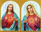 The Sacred Hearts Print - Sold in 3 per pack